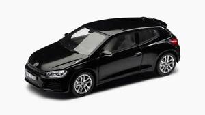 VW SCIROCCO 1K8 GP 2017 FACELIFT DEEP BLACK 1:43 SPARK (OEM DEALER MODEL)