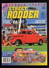 STREET RODDER MAGAZINE - OCTOBER 1991 - Ford V8 Rebuild