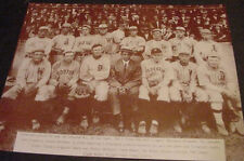 VINTAGE 1911 ALL STAR TEAM BASEBALL PHOTO TY COBB art American league MLB poster