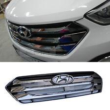 OEM Genuine Parts Front Dark Chrome Radiator Grill For HYUNDAI 13-15 Santa Fe DM