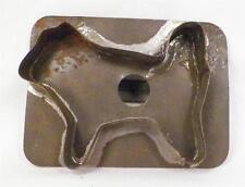 Antique Tin Cookie Cutter Dog Perky Tail Folk Art Tinsmith Holiday Baking Puppy