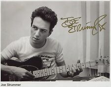 Joe Strummer SIGNED Photo 1st Generation PRINT Ltd, No'd + Certificate /4