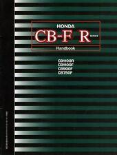 [BOOK] Honda CB-F/R series Handbook CB1100R CB1100F CB900F CB750F CB-F CB Japan