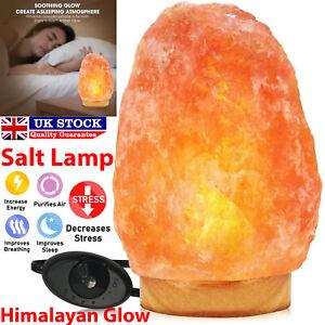 Extra Large Himalayan Salt Lamp Crystal Pink Salt Lamp Healing Ionizing Lamps