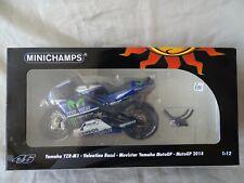 Minichamps. 1/12 VALENTINO ROSSI-Movistar yamaha motoGP 2014