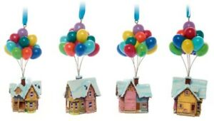 Disney Store Up Festive Hanging Ornament Carl Eliie Balloon House Standing decor