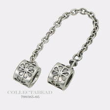 Authentic Pandora Sterling Silver Daisy Safety Chain 790385