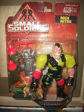 "Kenner 1998 Small Soldiers 6"" NICK NITRO Action Figure UNOPENED"