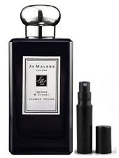 Jo Malone Incense & Cedrat Cologne Intense 2ml in a Refillable Mini Spray Bottle