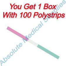 100 Pieces Shofu Super Snap Polystrips For Finishing Amp Polishing L526