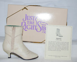 Just The Right Shoe by Lorraine Vail Shoe Miniatures- Ingenue