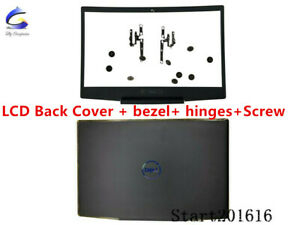 New Dell G Series G3 15 3590 LCD Back Cover & LCD Front Bezel & Hinges & Screw