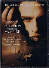 Interview with Vampire (new DVD, 2009) Tom Cruise, Christian Slater; Neil Jordan