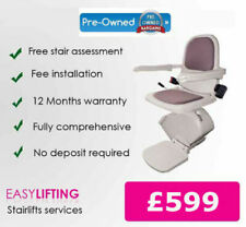 """""""RECONDITIONED ACORN SLIMLINE STAIRLIFT FULLY FITTED, 2 YEAR GUARANTEE.,,,,"""