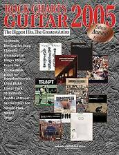 NEW Rock Charts Guitar 2005 Deluxe Annual Edition by Hal Leonard Corp.