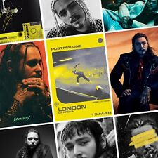 POST MALONE Beerbongs & Bentleys PHOTO Print POSTER 2019 World Tour Stoney Shirt