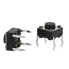 10 Mini Micro 6X6X5mm 4 Pin DIP Momentary Tactile Tact Push Button CHIP 7