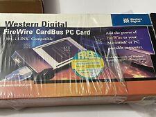 Western Digital FireWire CardBus Pc Card