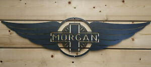 *Premium MORGAN Car Logo Metal Sign Hand Finished Vintage Car Wall Art british