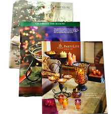 PartyLite Candle 2005 Everyday Catalog, Book, Winter Holiday, Retired Collector