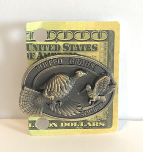 The Ruffed Grouse Society Money Clip Bronze Toned New