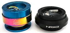 NRG Steering Wheel Short Hub Adapter Quick Release NB For Toyota 84-87 Corolla