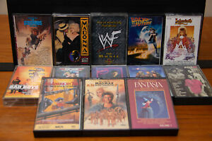 13 Movie Soundtrack Cassette Tapes - Labyrinth - Goonies - Bad Boys and more