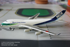 Phoenix Model NCA Cargo Boeing 747-400F Green Diecast Model 1:400