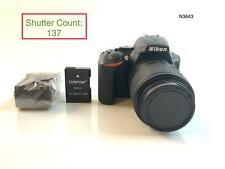Nikon D3500 Digital SLR Camera with NIKKOR 55-200mm f/4-5.6G ED Lens (137 CLICK)