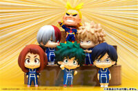 6pcs Anime My Hero Academia Q Ver. PVC Action Figure Statue Model Toy No Box