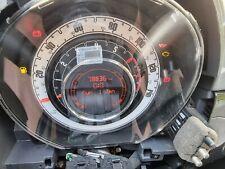 2010 FIAT 500 2008-2015 Petrol Manual Speedometer Speedo Clocks 735527218