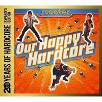 SCOOTER - OUR HAPPY HARDCORE:20 YEARS OF HARDCORE(EXPAN.ED.) 2 CD TECHNO NEU