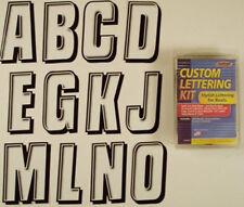 Sticker pour nom de bateau - Boat Name Kit - 164 stickers 12cm x 7cm