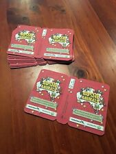 Woolworths - Aussie Animal Cards RED (unopened) 40 x Lot - MINT!