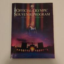 1984 Official Olympic Souvenir Program Los Angeles