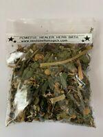 POWERFUL HEALER Herbal Blend for Spiritual Bath, Sachets, Mojo Bags Hoodoo Wicca