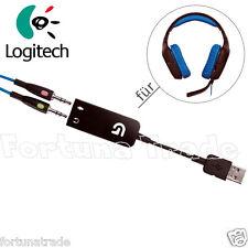 USB Adapter für Logitech G430 Surround Sound Gaming Headset Original Empfänger