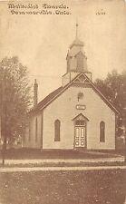 C6/ Summerville Ohio Postcard c1910 Methodist Church Building Middletown Butler