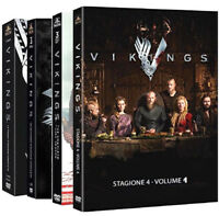 VIKINGS - SERIE TV 01-04 (12 DVD) WARNER HOME VIDEO