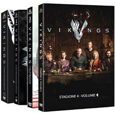VIKINGS - SERIE COMPLETA 01-04 (12 DVD) SERIE TV WARNER HOME VIDEO