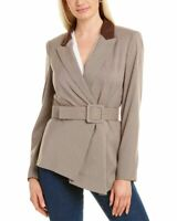 Tahari Asl Asymmetric Jacket Women's