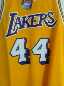 Vintage 1971-72 L.A. Lakers Jerry West authentic home jersey Brand New by Mitche