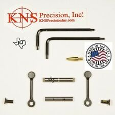 KNS Pins Anti-Walk Pins Non-Rotating NRTHP Mod.2   BLACK  Side Plates .154 Pin
