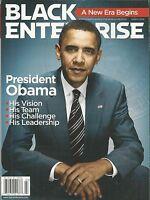 Barack Obama Black Enterprise Magazine Woman's Investing Guide The Economy 2009