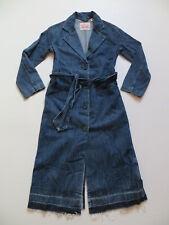 Levi's Mantel Jeansmantel Gr. XS mit Gürtel, 2 Taschen, Original Vintage Denim !