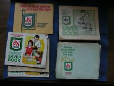 S&H Green stamp books plus stamps 27 books some w/stamps + Gold Bond stamps