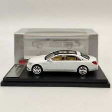 1:64 Mercedes Benz Maybach S680 Diecast Model Car Collection Toys White Master