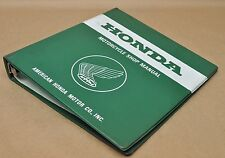 "Vintage Honda Motorcycle 2"" 7 Ring Shop Repair Service Manual Binder Only"