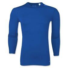 Adidas Base TechFit Long Sleeve T-Shirt (Royal) size 7-8 years