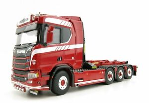 WSI 04-2090 Scania R Normal CR20N 8x2 Truck with Hooklift System 1:50